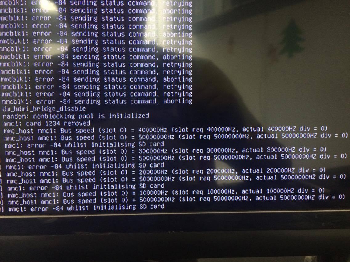 linux boot error